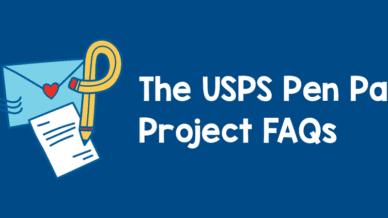 The USPS Pen Pal Project FAQs
