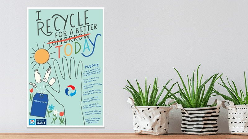 Free Recycling Poster