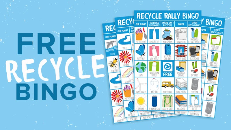 Rally Your Class to Recycle With Our Free Recycle Bingo Game