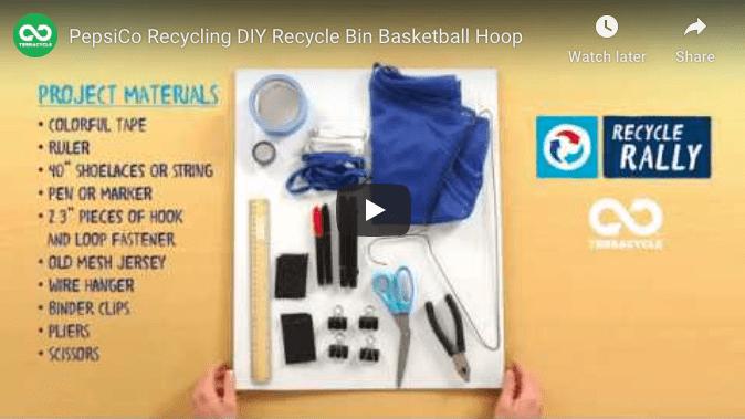 Recycle Basketball rally