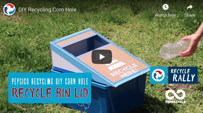 Recycle Cornhole