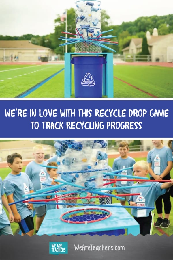 We're in Love With This Recycle Drop Game to Track Recycling Progress