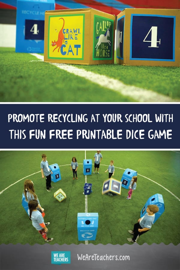 Try Our Free Printable Dice Game to Promote Recycling