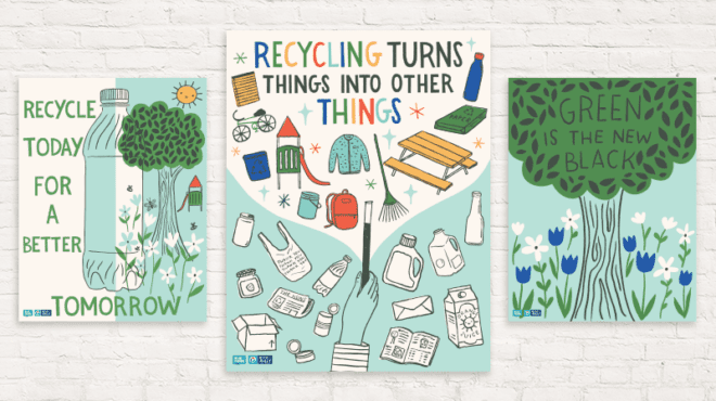 Free Recycling Posters for the Classroom - WeAreTeachers