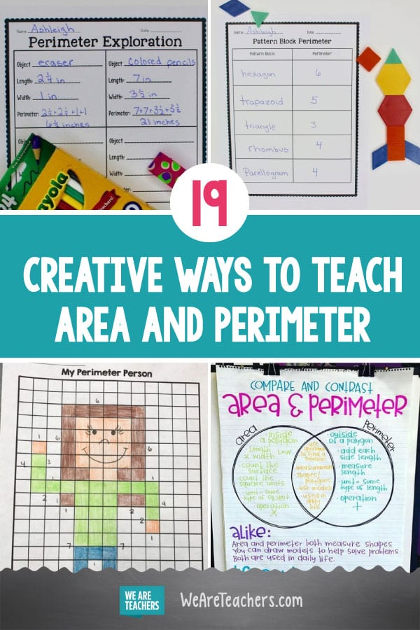 19 Creative Ways to Teach Area and Perimeter