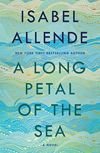 A Long Petal of the Sea book cover.