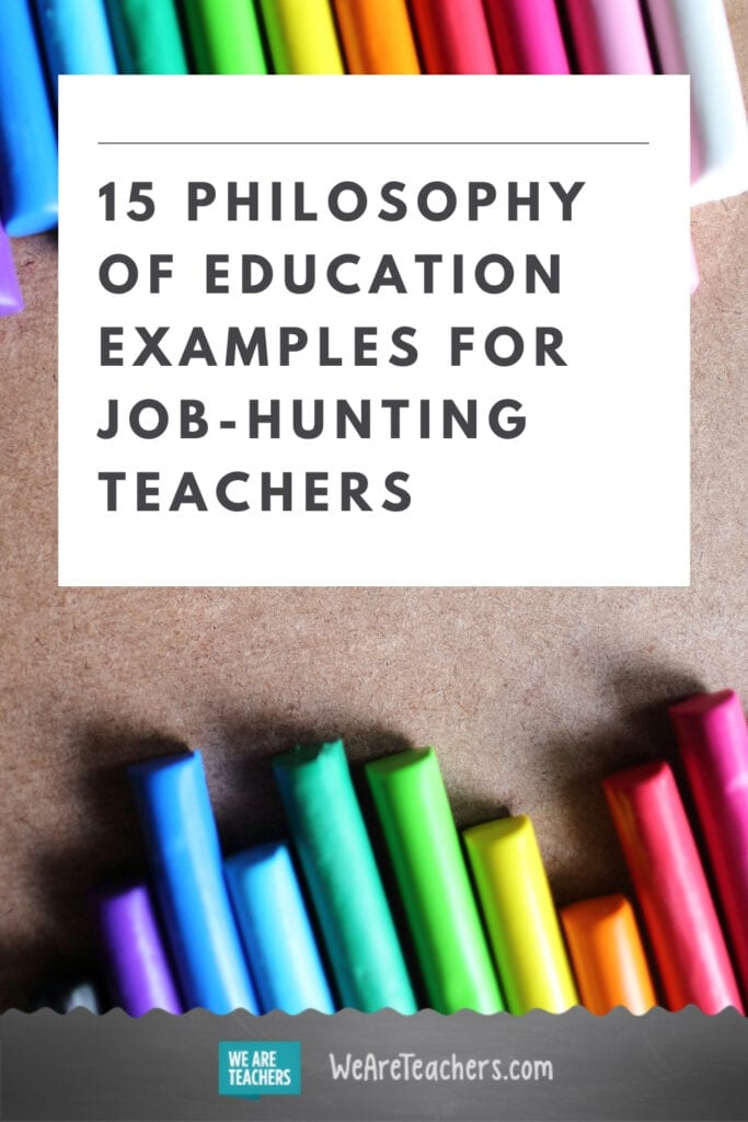 15 Philosophy of Education Examples for Job-Hunting Teachers