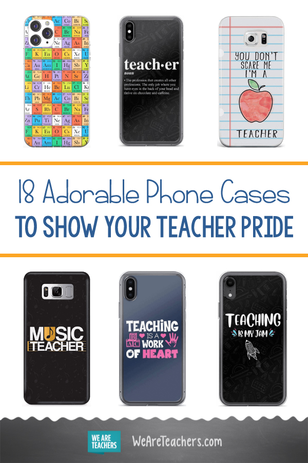 18 Adorable Phone Cases to Show Your Teacher Pride