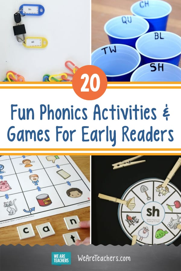 20 Fun Phonics Activities and Games For Early Readers