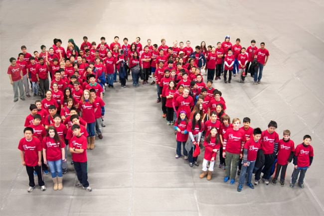 Pi Day Photo Raytheon
