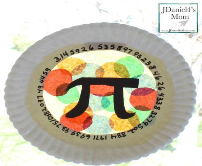 Pi Day Plate Art jdaniel4smom