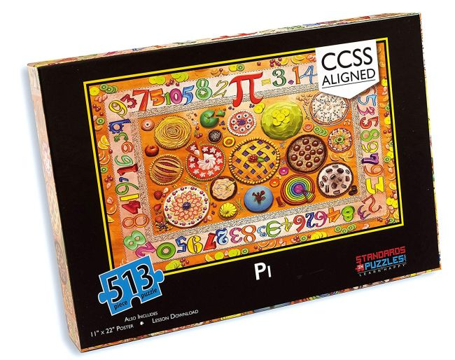 Pi Day Puzzle Standards Amazon