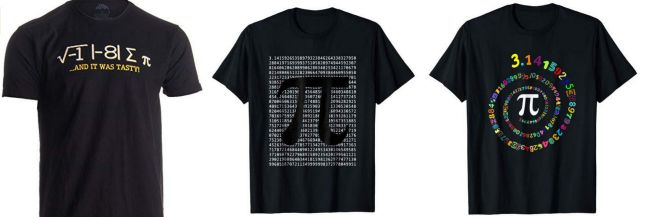 Pi Day Shirts Amazon