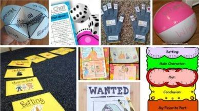 Second Grade Reading Comprehension Activities