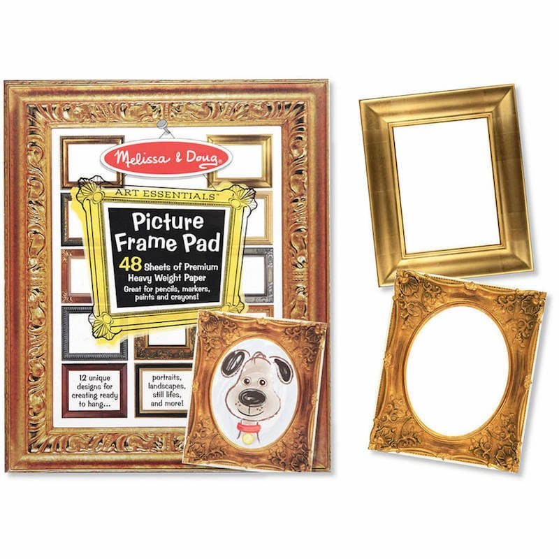 Picture Frame Pad - Art Supplies Under $10
