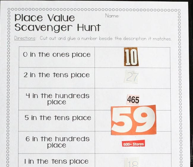 Place Value Activities Primary Theme Park