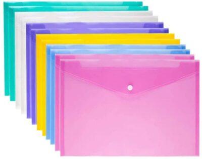 Plastic Envelope Folders