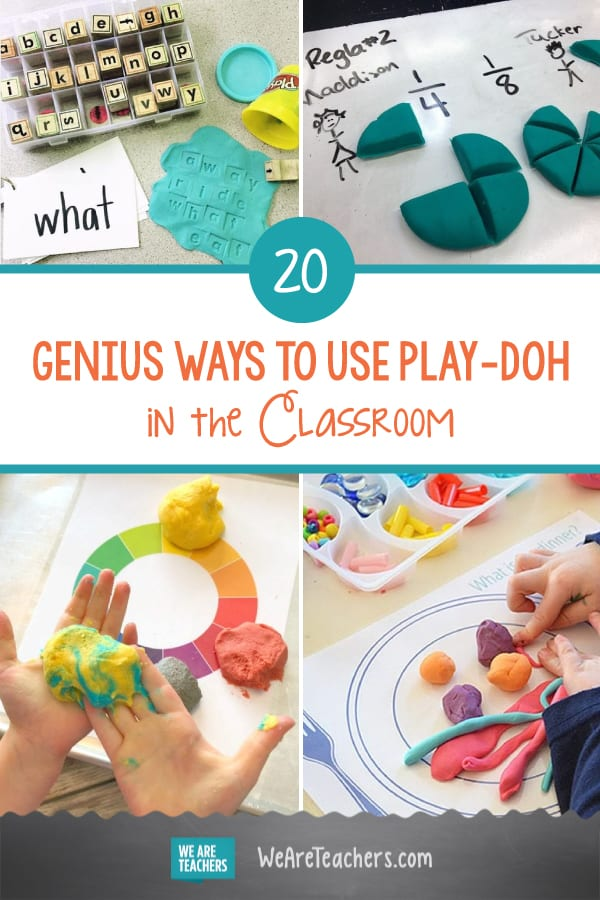 20 Genius Ways to Use Play-Doh in the Classroom
