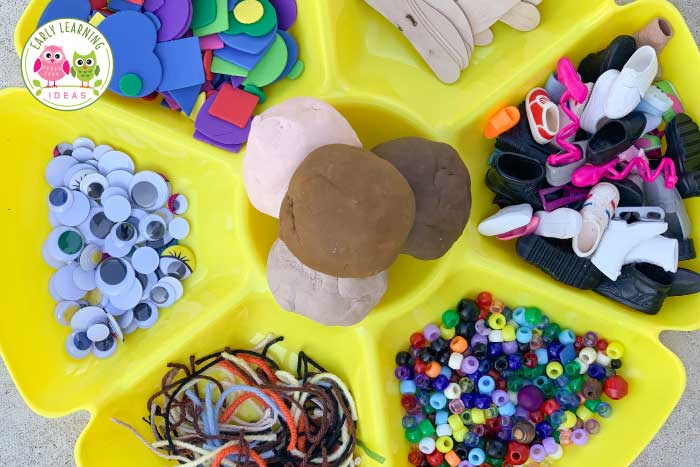 Play-doh Learning Early Learning Ideas
