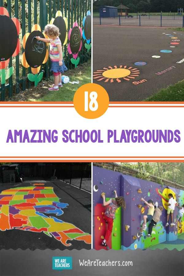 These 18 Awesome School Playgrounds Make Recess More Fun Than Ever