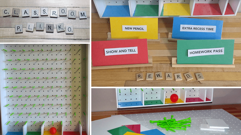 How to Make Your Own Classroom Plinko Board