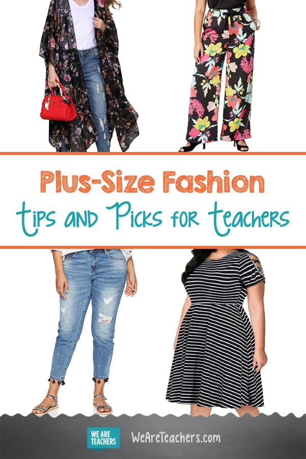 Plus-Size Fashion Tips and Picks for Teachers
