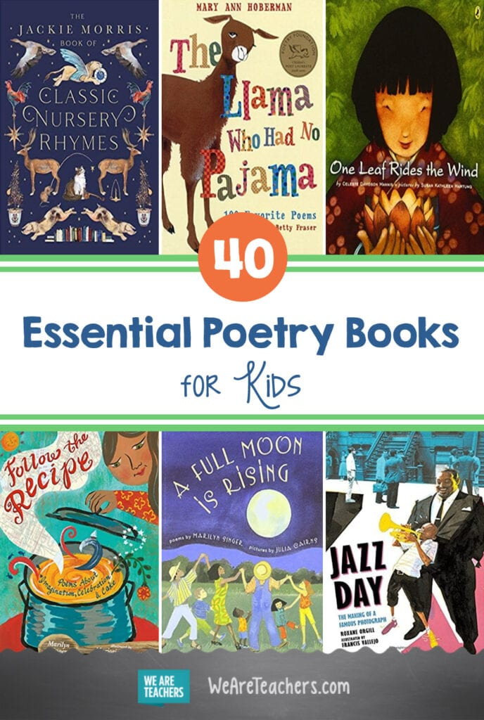 40 Essential Poetry Books for Kids in Grades PreK–12