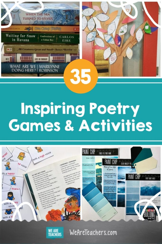 35 Inspiring Poetry Games and Activities for Kids and Teens
