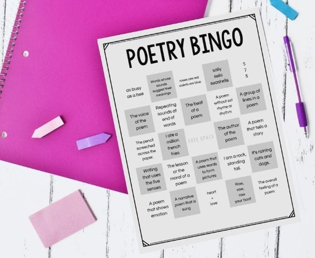 Poetry Games