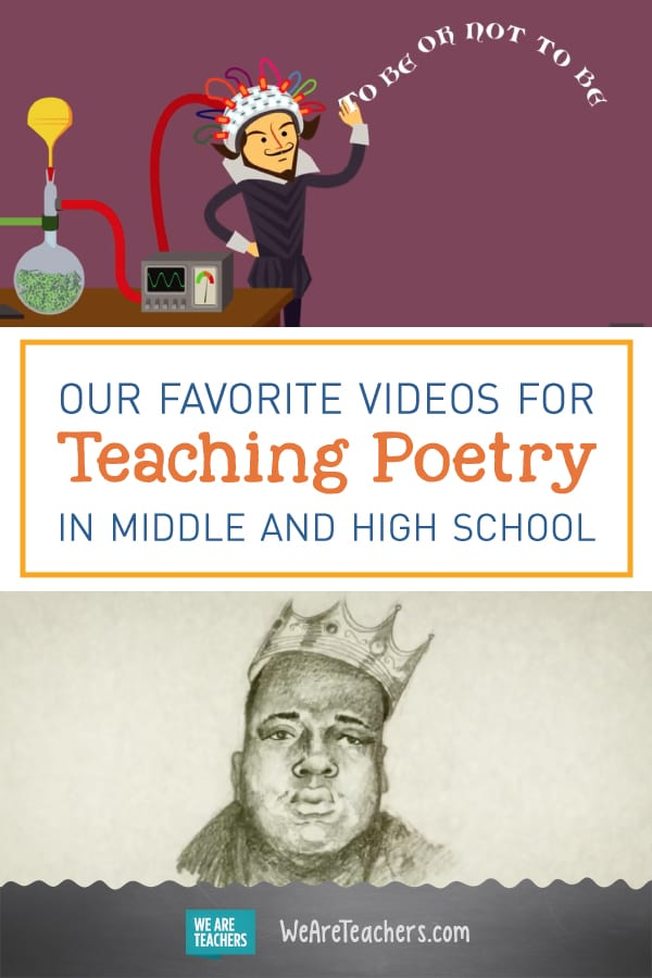Our Favorite Videos for Teaching Poetry in Middle and High School
