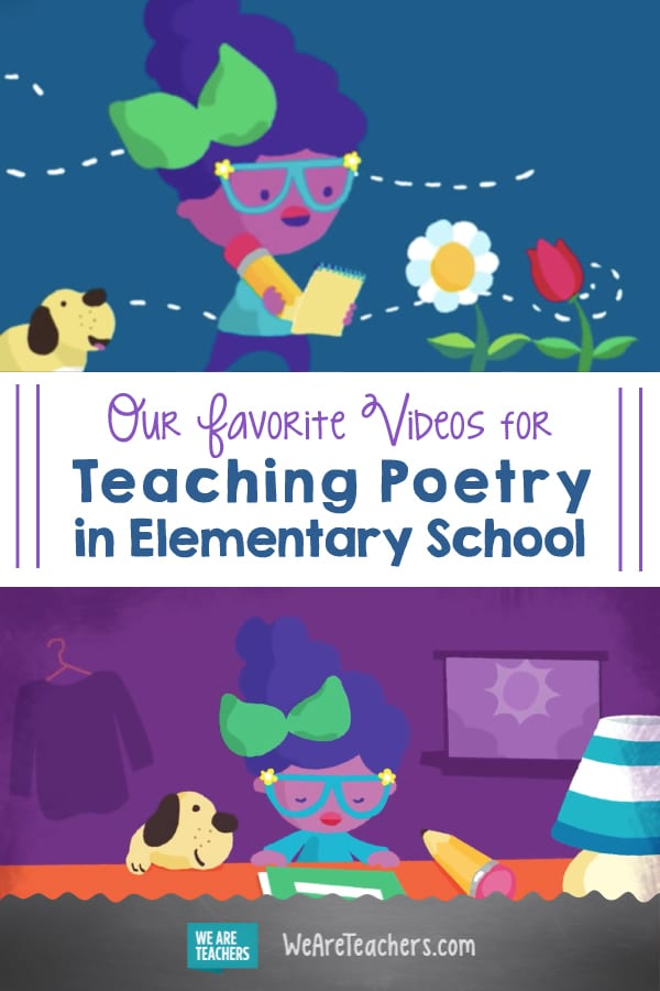 Our Favorite Videos for Teaching Poetry in Elementary School