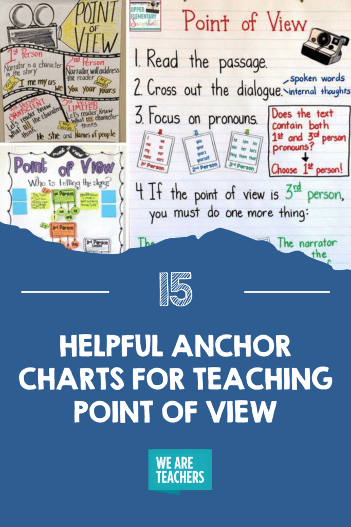 15 Helpful Anchor Charts for Teaching Point of View