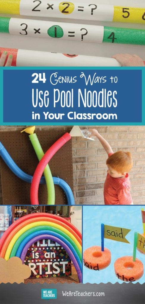 24 Genius Ways To Use Pool Noodles In Your Classroom Weareteachers