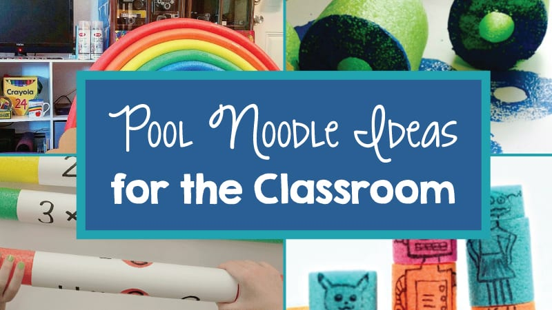 33 Genius Ways to Use Pool Noodles in Your Classroom