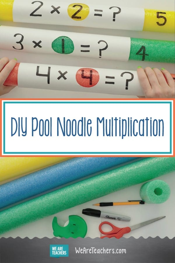 DIY Pool Noodle Multiplication for Your Classroom