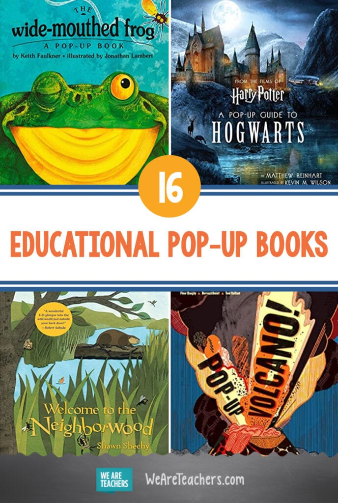 16 Educational Pop-Up Books to Surprise and Delight Students
