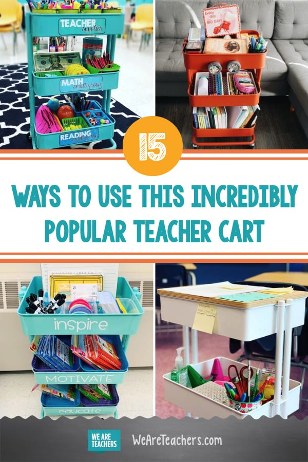 15 Ways to Use This Incredibly Popular Teacher Cart