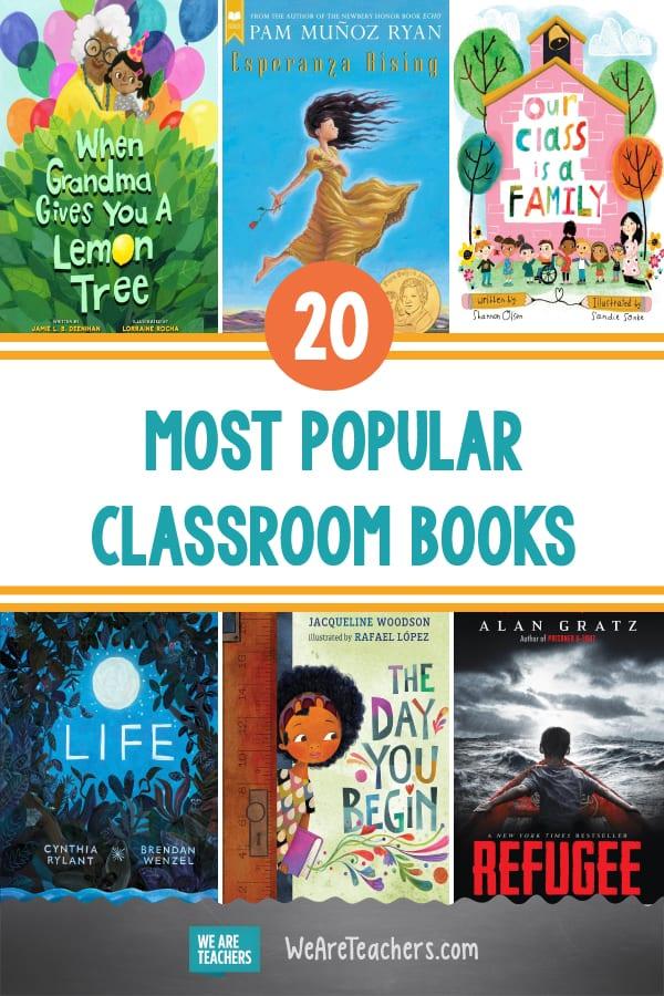 The 20 Most Popular Classroom Books, According to WeAreTeachers Readers