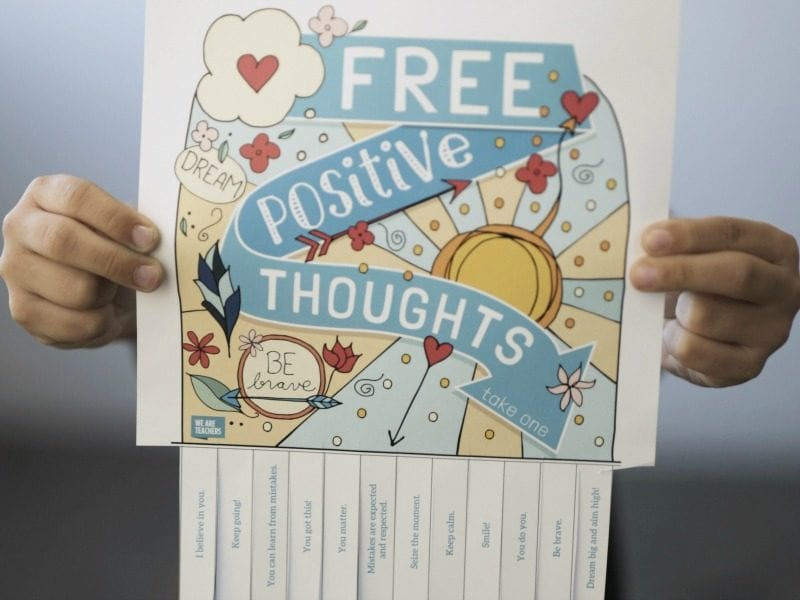 Free Positive Thoughts: Take One! |Positive Thoughts Take One Daily