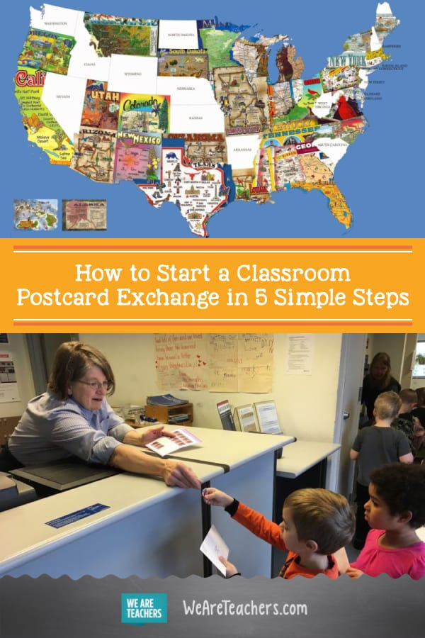 How to Start a Classroom Postcard Exchange in 5 Simple Steps