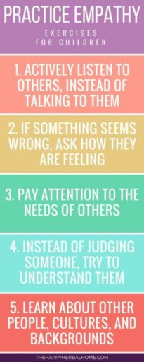 Activities for teaching empathy
