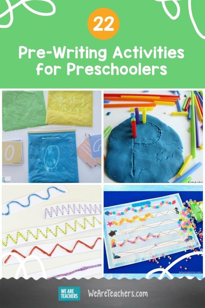 22 Pre-Writing Activities for Preschoolers
