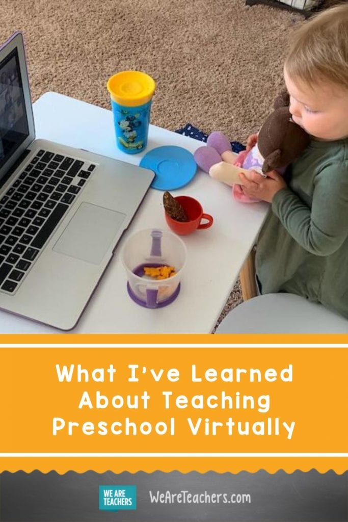 What I've Learned About Teaching Preschool Virtually