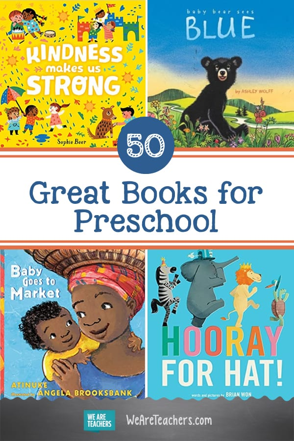 50 Great Books for Preschool
