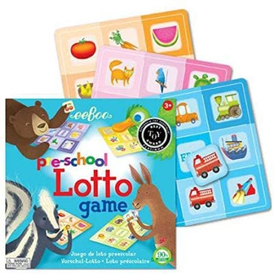 Best board games for preschoolers - Preschool Lotto