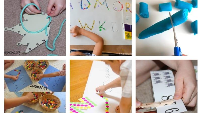 main image preschool prewriting skills