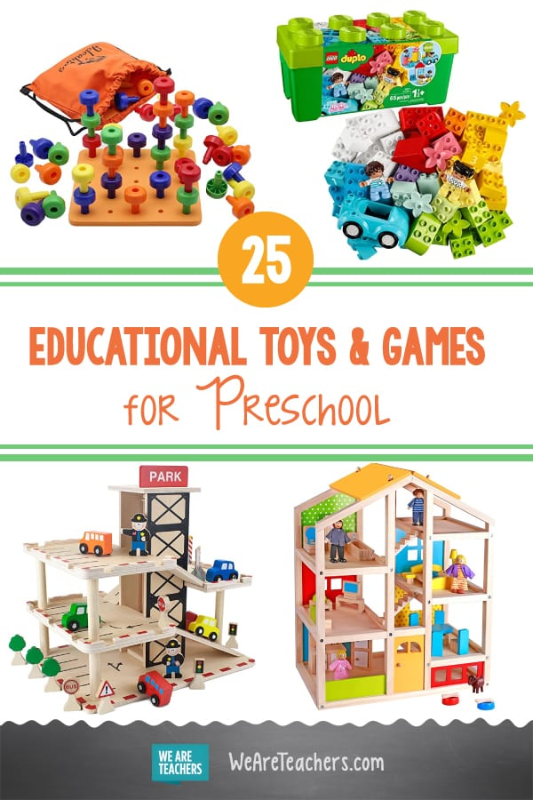 25 Best Educational Toys and Games for Preschool