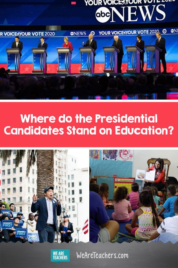 Where do the Presidential Candidates Stand on Education?