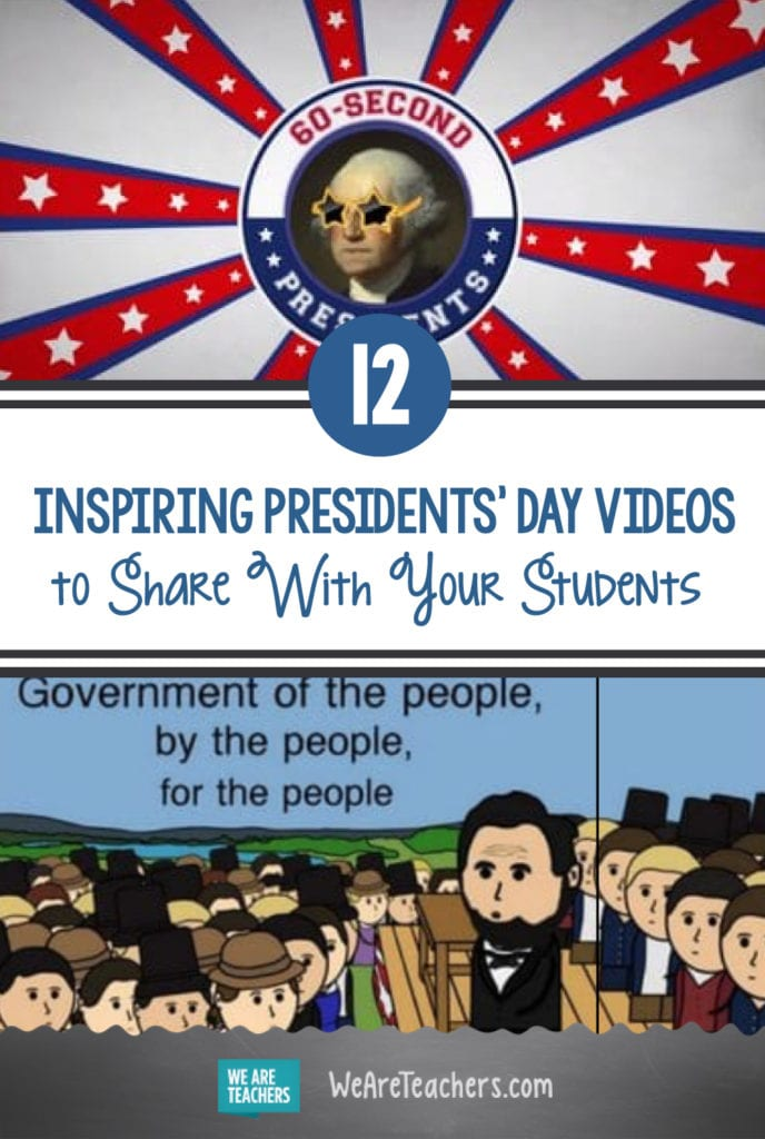12 Inspiring Presidents' Day Videos To Share With Your Students