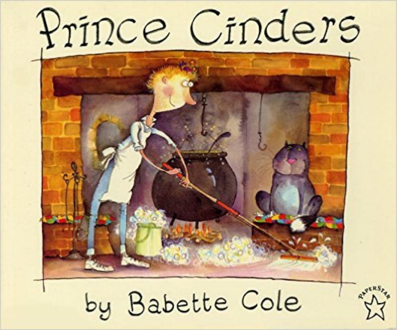 Book Cover of Prince Cinders